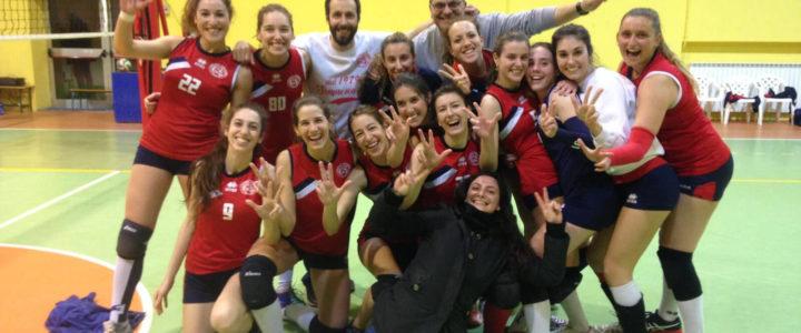 I Divisione Femminile vincente nella battaglia di San Giuliano